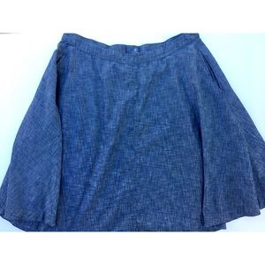 Lane Bryant Denim Skirt